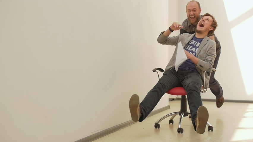 office chair race. slow motion. young Stock Video (HD) Royalty-Free · 16966828 · Shutterstock  sc 1 st  Shutterstock & office chair race. slow motion. young Stock Video (HD) Royalty-Free ...