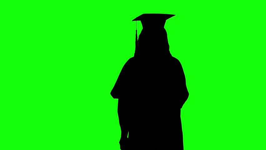 Grad Cap Silhouette Stock Video Footage - 4K and HD Video Clips |  Shutterstock