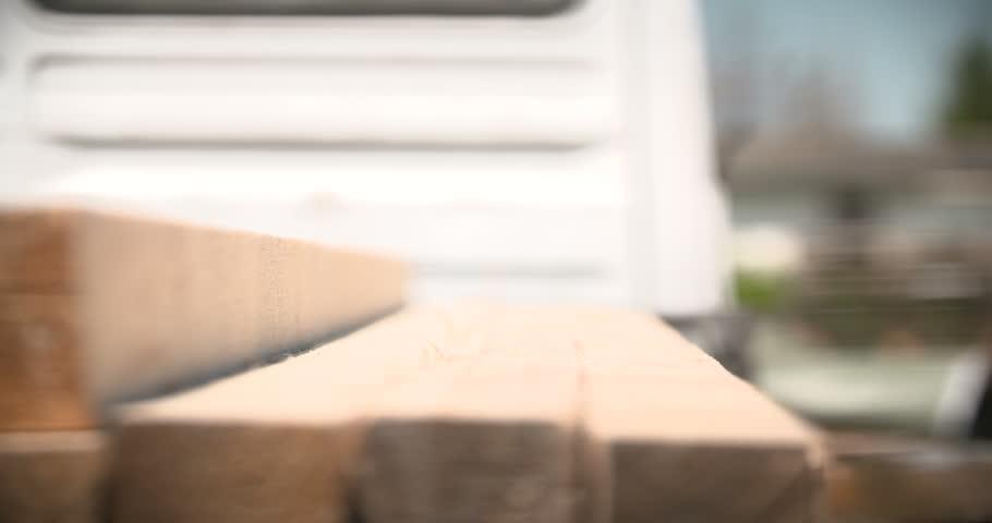 Construction worker measuring board | Shutterstock HD Video #17029498