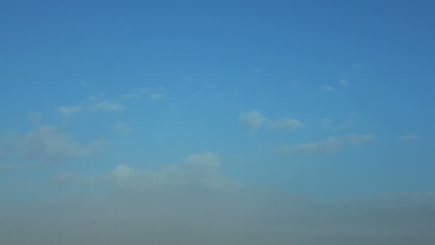 the early morning blue sky over Jerusalem, Israel to the East Wall of the Old
