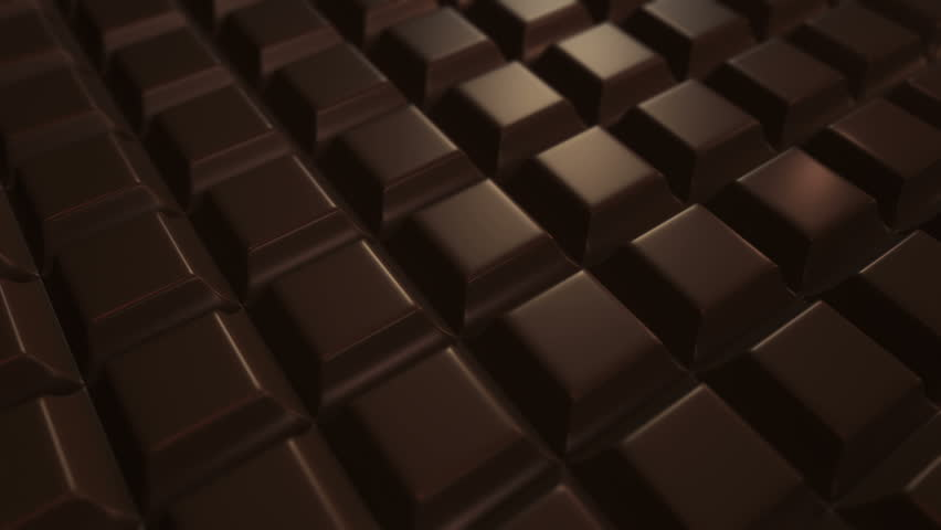 Animation moving of chocolate bars and chocolate candies with different fillings. Animation of seamless loop.   Shutterstock HD Video #17118538