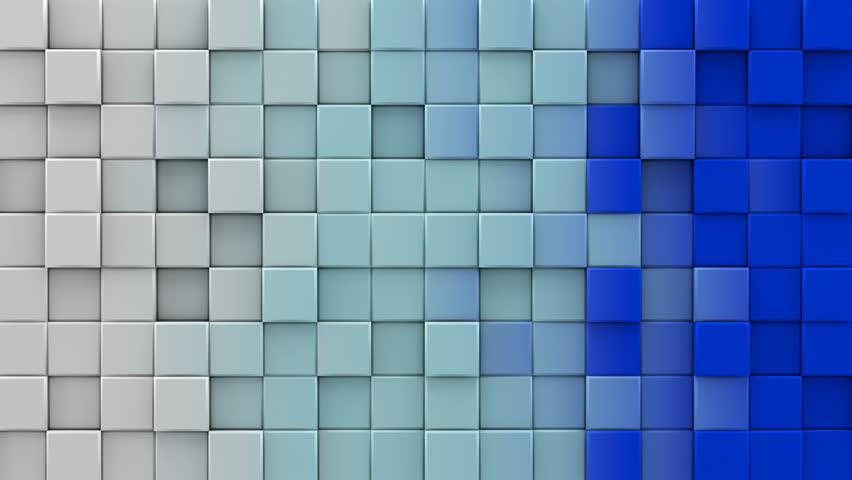 Colorful Tiles Mosaic Computer Generated Seamless Loop