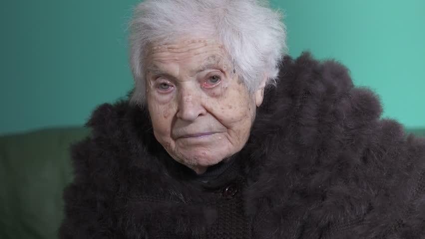 old woman, portrait of woman