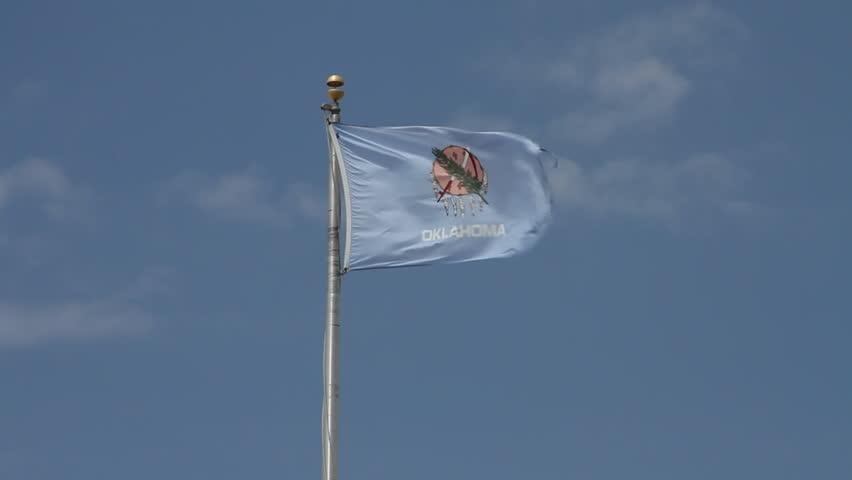 Oklahoma state flag, state of Oklahoma flag, Oklahoma flag