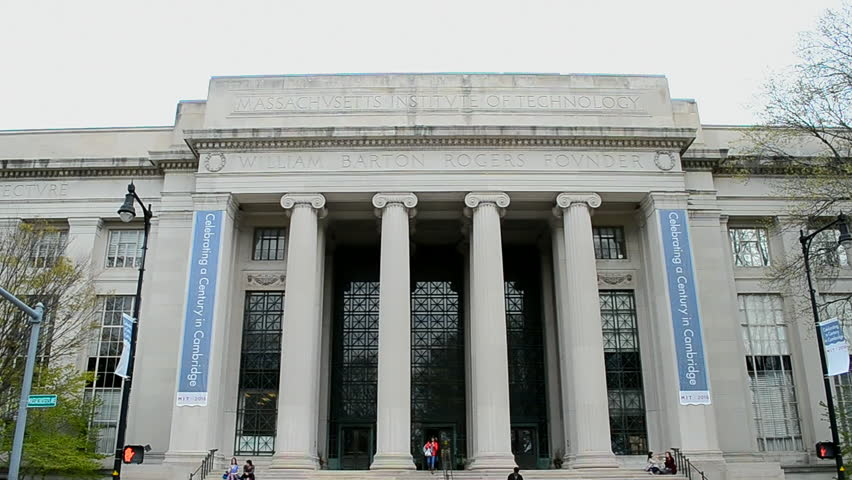 BOSTON, MA - APR 25: 100th anniversary of Cambridge campus at The Massachusetts Institute of Technology (MIT) on April 25, 2016 in Cambridge, Boston, USA. The MIT university founded in 1861.