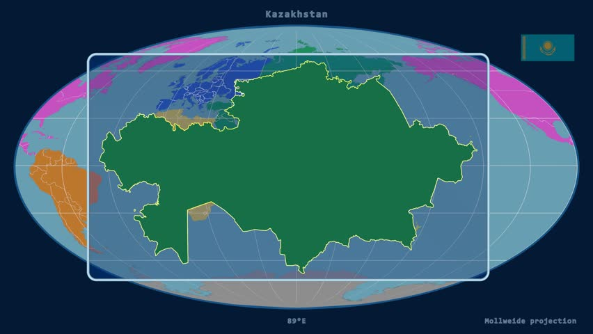 World map with close up in pushpin in paris france 3d rendering zoomed in view of a kazakhstan outline with perspective lines against a global map of gumiabroncs Choice Image