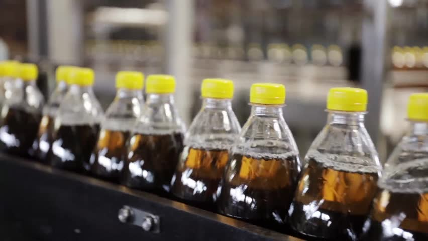 Production line of mineral water and carbonated drinks. Plastic packaging. preform | Shutterstock HD Video #17312578