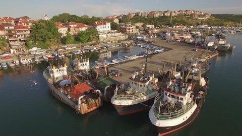 Port of Sozopol at Sunset / Black sea - Bulgaria