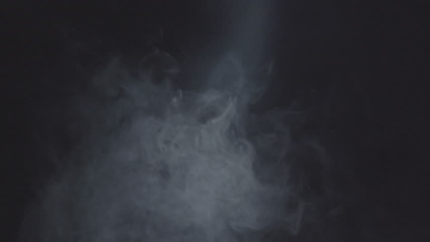 Cigarette Smoke. Abstract Smoke On Black Background. Smoke Cloud ...