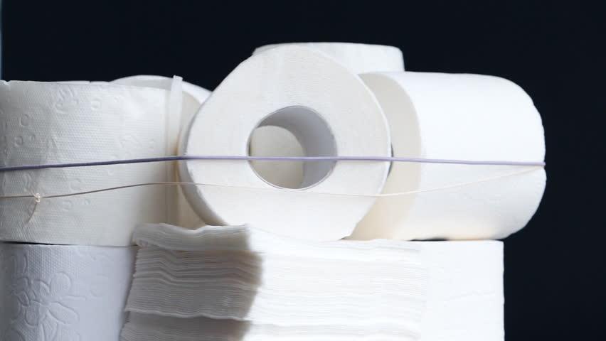 White kitchen paper towel  toilet paper  paper tissues on a black  background   HD. White Kitchen Paper Towel  Toilet Paper  Paper Tissues On A Black