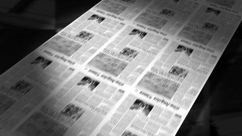 Newspapers Printing Loop