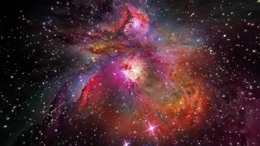 Orion Nebula Zoom Into Stars