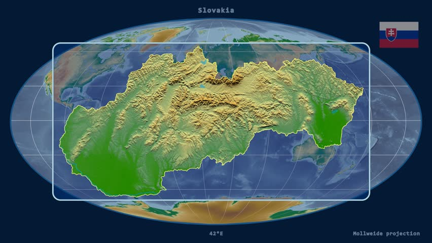 Zoomed in view of a cyprus outline with perspective lines against zoomed in view of a slovakia outline with perspective lines against a global physical map sciox Gallery