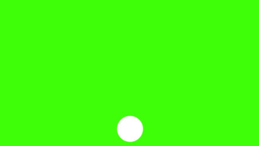 WiFi symbol graphic resource keyable green screen looping animation white