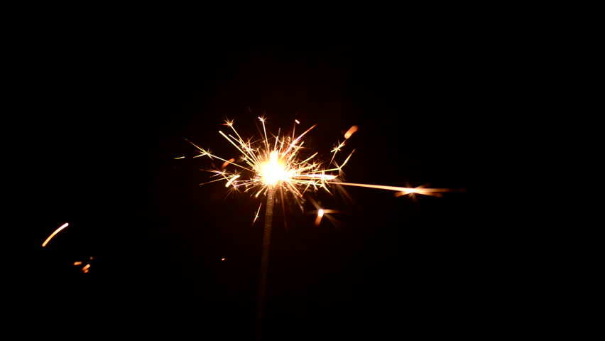 Fireworks Sparks in the Dark Stock Footage Video (100% Royalty-free)  17897308 | Shutterstock