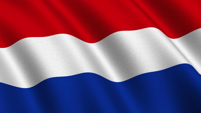 Flag Of Netherlands Stock Footage Video   Shutterstock
