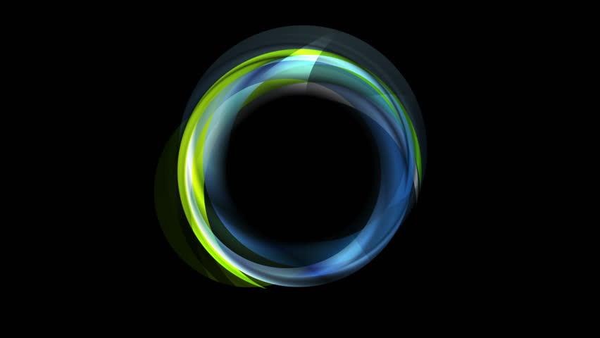beautiful neon circles 4k - photo #44
