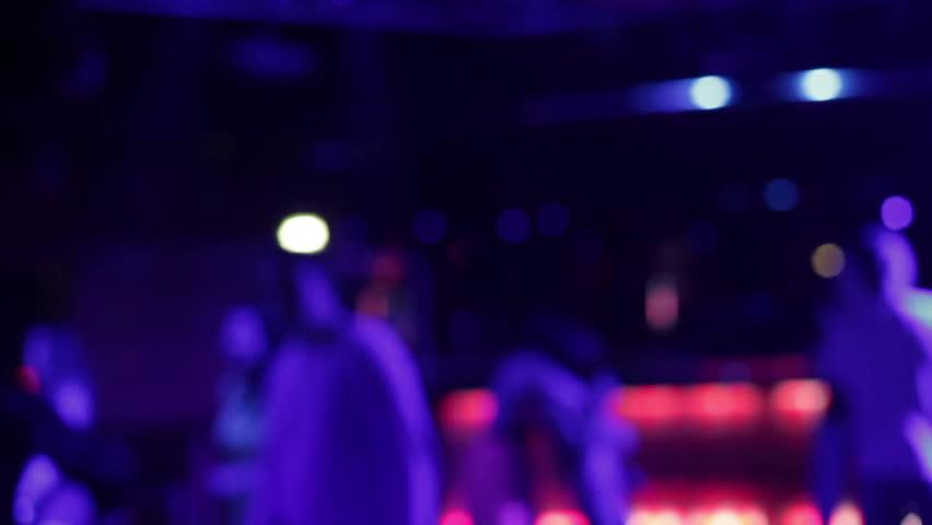 People Dancing in Night Club Stock Footage Video (100% ...