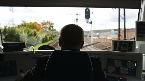 Train driver's point of view