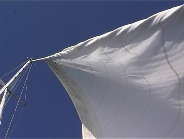 Sailingyacht at sea 2