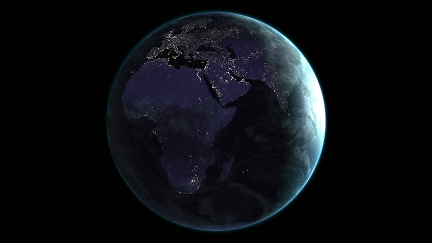 Animation of spinning earth | Shutterstock HD Video #18267718