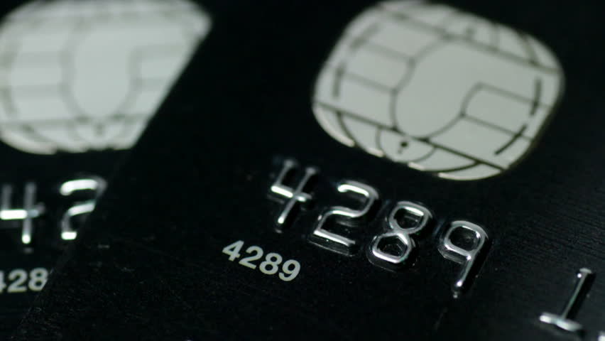 Pair of credit card number scanning with green laser | Shutterstock HD Video #1835722