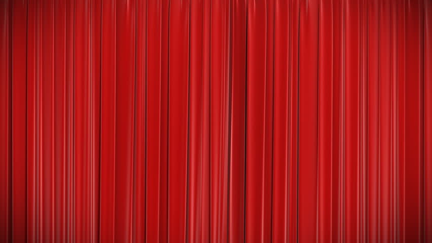 Opening and closing red curtain stock animation royalty free stock - Stage Lighting Curtains Stock Footage Video 2965603