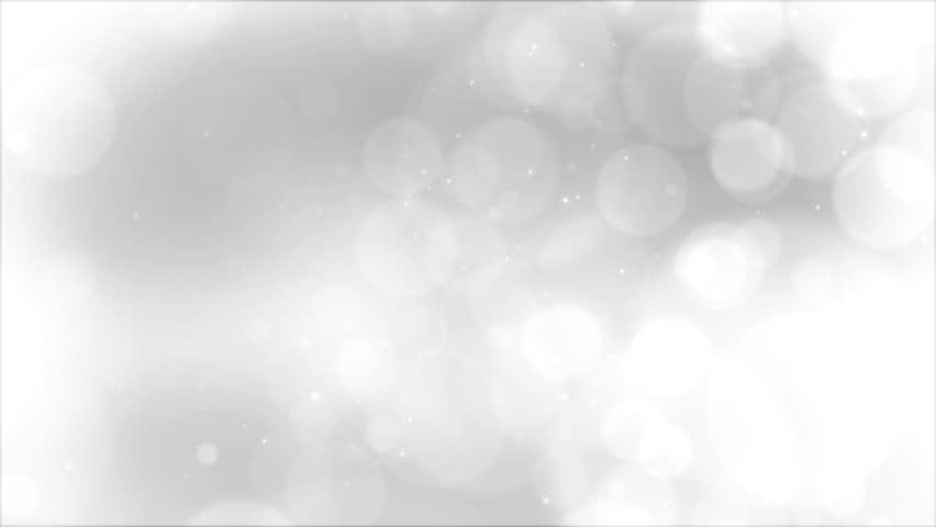 Slow Silver Bokeh Blur Background | Shutterstock HD Video #18517805