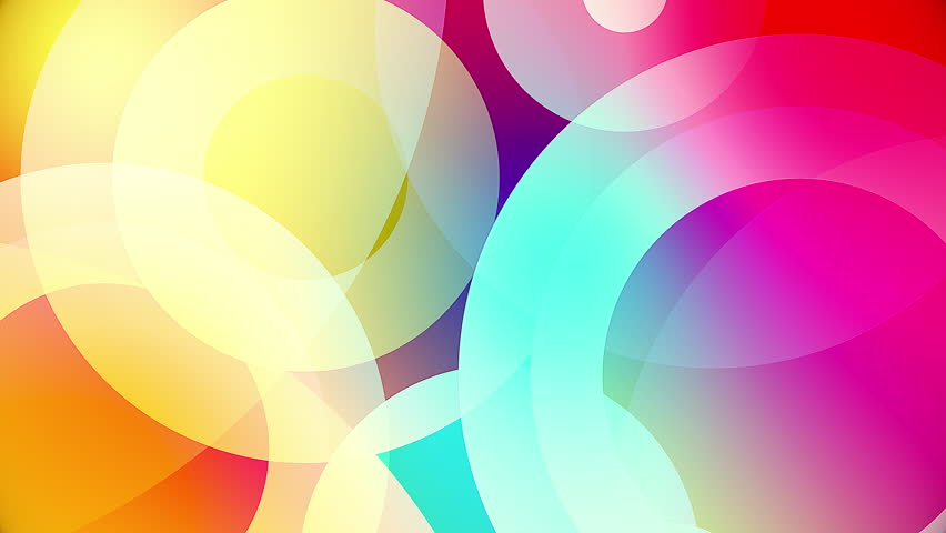 Colorful Circles Video Background Glassy Stock Footage Video (100%  Royalty-free) 18610328 | Shutterstock