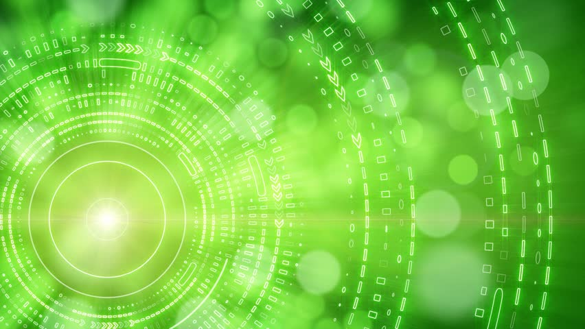 Green Socom 16 In Hdwallpaper: Stock Video Clip Of Green Abstract Background Lights And