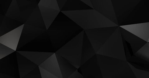 3d black abstract material design background loop 4k