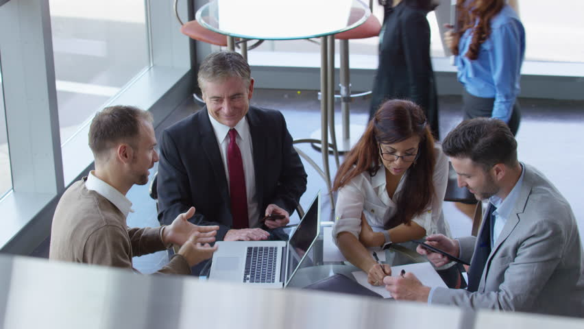 Group of business people meeting | Shutterstock HD Video #18996151