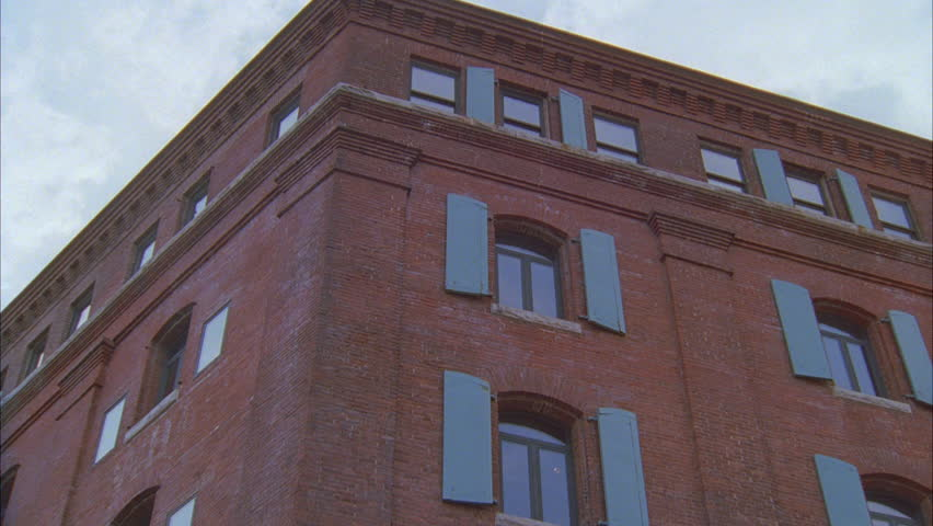 Day Up Angle, Push Top Window 6 Story Brick Converted Warehouse Loft  Apartment Hotel W