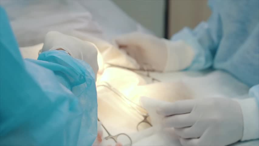 Header of electrosurgery