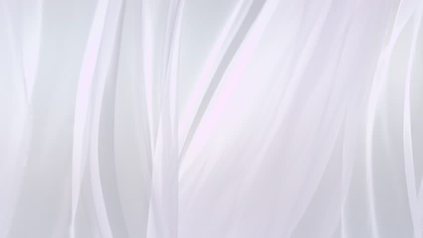 Sheer white curtains blowing in the wind