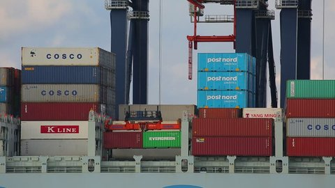 Port Of Rotterdam Stock Video Footage - 4K and HD Video Clips | Shutterstock