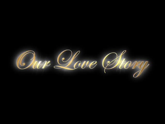 Our Love Story lettered animation