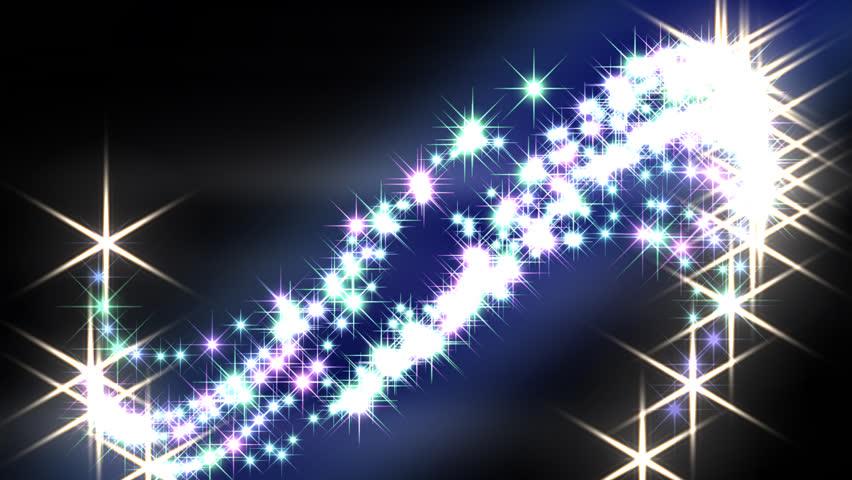 Magic Sparkles Fairy Dust Wand Particle Trail Multicolor ...