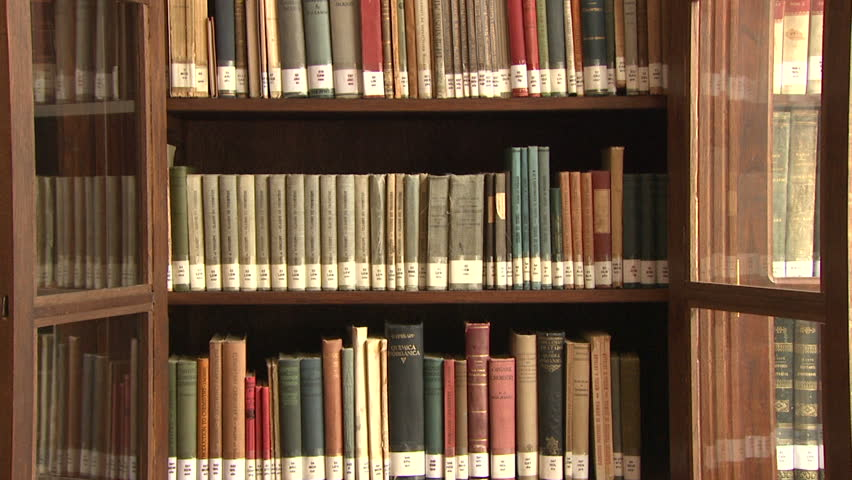 Old Books from a Library Stock Footage Video (100% Royalty-free) 19307158 |  Shutterstock
