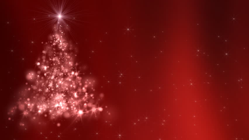Loopable Animated Christmas Tree Background. | Shutterstock HD Video #19383274
