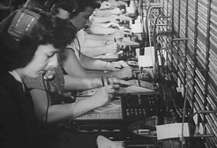 By using toll dialing, telephone operators are able to more quickly serve people who urgently need to place long distance calls in 1950. (1950s)
