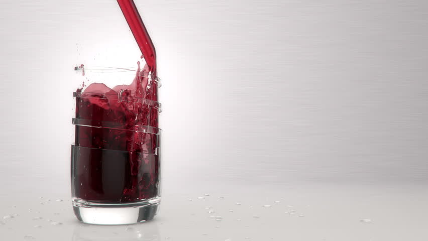 Cranberry Juice Slow Juicer : Ice Into Cranberry Juice, Slow Motion Stock Footage video 4553351 Shutterstock
