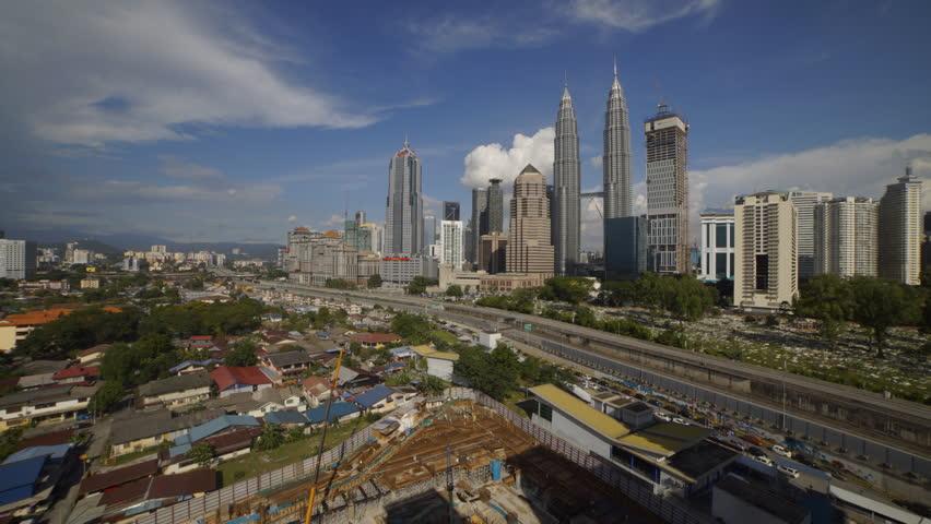Time lapse of Kuala Lumpur, Malaysia. High quality, Ultra HD | Shutterstock HD Video #19457458