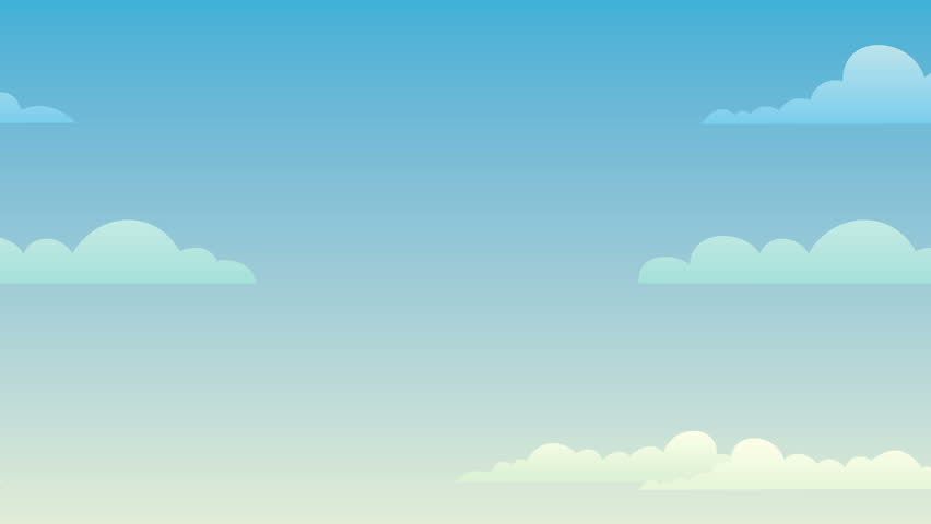 stock video of looping sky background animation 19490668 rh shutterstock com cartoon sky grass background cartoon sky background free