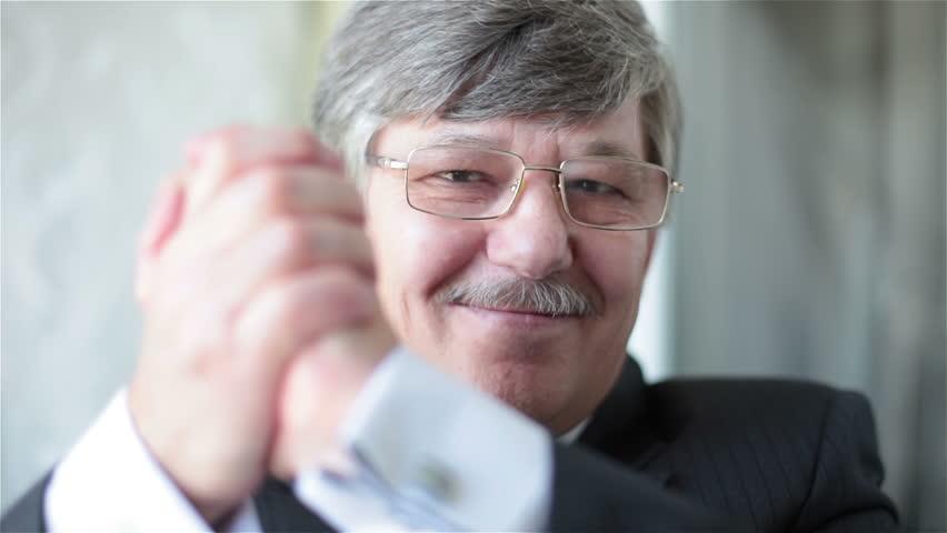 Portrait of a smiling businessman | Shutterstock HD Video #19595308