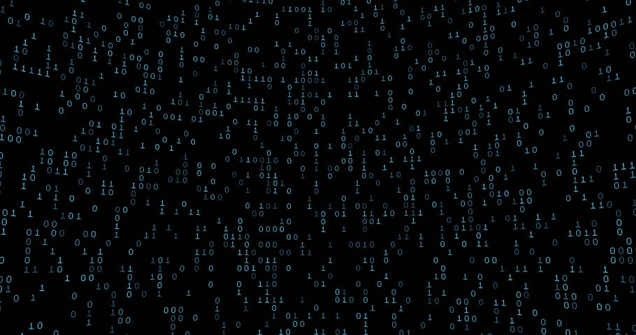 Binary data grid / 3D animation of binary data cloud | Shutterstock HD Video #19603858