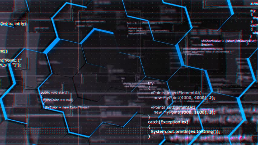 Software developer programming code. Abstract grunge computer background with Java program code, looping 4K 3d background. | Shutterstock HD Video #19642093