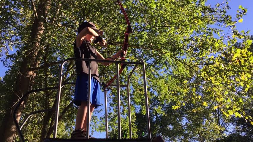 Header of archery