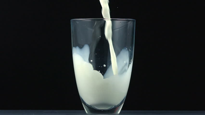 Pouring Milk in Glass Stock Footage Video (100% Royalty ...