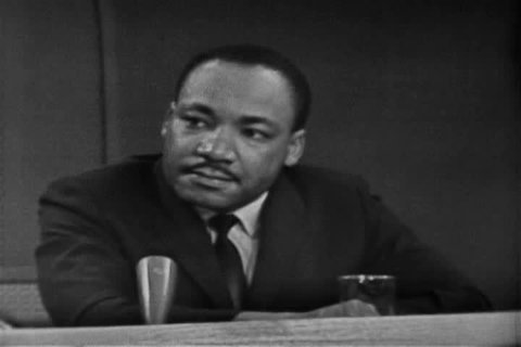 Martin Luther King discusses the connection between the American Civil Rights Movement, Gandhi and the worldwide freedom movement in 1963. (1960s)